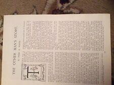 u2-3 ephemera 1905 story the other man's story fred m white