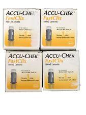 Accu-Chek FastClix Lancets, 102ct, 4 Pack