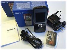 Nokia  C1-01 - Dark Gray (Ohne Simlock) Handy Neuware deutsche Anleitung  TOP