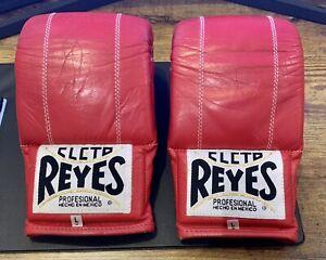 Cleto Reyes Bag Mitts Gloves Red L. Like Winning Grant Everlast Rival