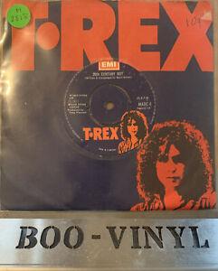 "T.Rex - 20th Century Boy  7"" Single EMI / T.Rex Records 1973 EX CON"