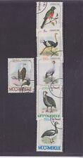 MOZAMBIQUE-1980-BIRDS SET-CTO/NO HINGE/FULL GUM-$3.50-freepost