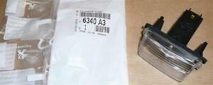 Peugeot 206 Cc 206+ 207 306 307 308 Numéro Plaque Lampe Authentique 6340.A3