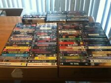 Lot of 100+  VHS Horror Scary Movies and Sci Fi Films-Pick 10!!! Please Use List