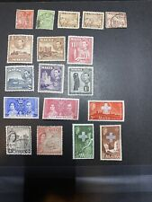Small lot of Malta 18 Stamps lot, MH and used lot from 1937-57 great mix!