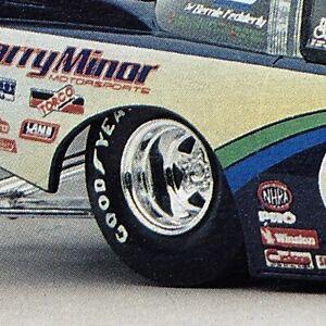 Weld ProStar Drag Race Wheels W Goodyear Slicks RVL 1:24 Search LBR Model Parts