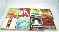 Lot Of 9 Mixed Assorted Manga Books Pre-Owned Good