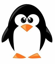 Penguin Cartoon Funny Pingu Sticker Decal Graphic Vinyl Label V1