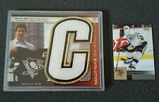 Pittsburgh Penguins SIDNEY CROSBY JERSEY Card PATCH SP GEM 1/1 Stanley Cup Champ