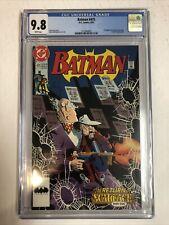 Batman (1992) # 475 (CGC 9.8 WP) | 1st Appearance of Renee Montoya. Scarface App