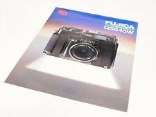 Original Fuji GS645W Rangefinder Camera Sales Brochure/Leaflet