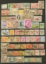 Malaya Malaysia Lot of 180 Stamps Cancelled #6964