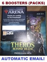 Theros Beyond Death MTG Arena 6 boosters Pack Code Prerelease INSTANT EMAIL