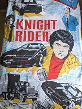 VTG 80s Knight Rider David Hasselhoff KITT Duvet Cover Fabric Sheets Bedding