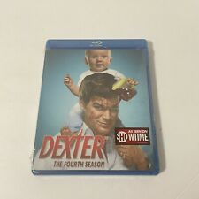 Dexter - The Complete Fourth Season (Blu-ray Disc, 2010) NEW AND SEALED!