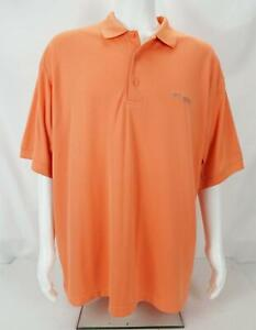 Columbia Short Sleeve Omni-Shade Button Up Shirt Orange Men's XL