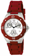 Invicta Women's 0701 'Angel' Red Silicone Watch