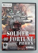 SOLDIER OF FORTUNE PAYBACK - PC GAME ACTIVISION 2007 ENG-ITA