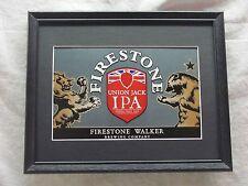 FIRESTONE UNION JACK IPA  BEER SIGN  #1159