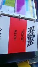 Kubota WSM M8580  Tractor Workshop Manual