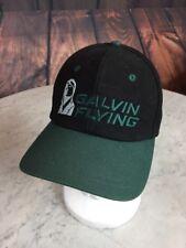 GALVIN FLYING Black and Green Mens Cotton Baseball Cap Made in CANADA Merkley