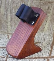 Wooden stand Holder Rack Display for Tobacco smoking pipe pipes ash wood new
