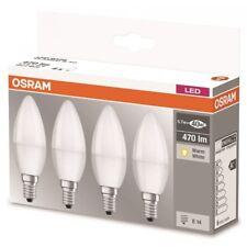 OSRAM LED BASE B40 KERZE 12 STÜCK 3x4 E14 5,7W GLÜHBIRNE LAMPE LEUCHTMITTEL