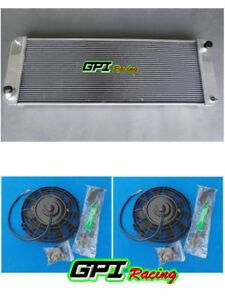 Custom Radiator +FAN 62MM 1988-2004 LOTUS Esprit S4/SE/S4s/ V8/GT / GT3