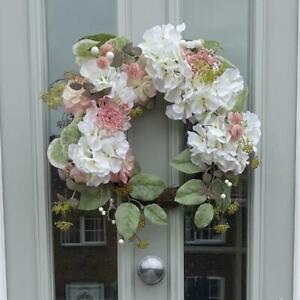 50cm Artificial Flower Door Wreath