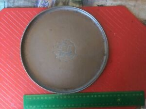 ARTS AND CRAFTS COPPER TRAY any HUGH WALLACE