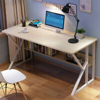 Computer Table PC Laptop Desk Wood Workstation Study Home Writing Desk Furniture