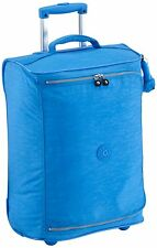 Kipling Teagan XS Cabin Sized 2 Wheeled Trolley Suitcase, 50 cm, Sky Blue