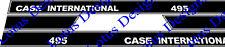 Cas International 495l stickers / autocollants