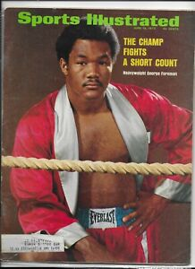 Sports Illustrated June 18 1973 George Foreman The Champ Fights Short Count NM