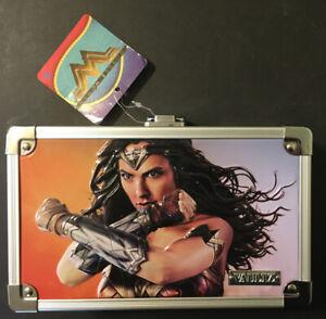 Wonder Women Vaultz Embossed Locking Supply Box Keys New