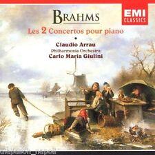 Brahms: Piano Concertos Nos. 1 & 2 / Claudio Arrau, Carlo Maria Giulini - CD Emi