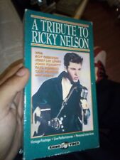 A TRIBUTE TO RICKY NELSON Jerry Lee Lewis Roy Orbison VHS