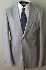 Howard Yount HY Italy Gray Patch Pocket Suit Flat Frnt Vitale Barberis Canonico