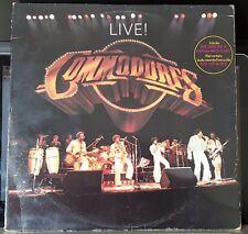Commodores – Live! - 1977 MOTOWN gatefold double LP
