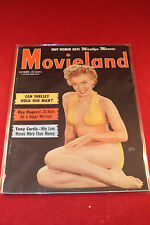 Movieland Magazine  Marilyn Monroe Cover - Roy Rogers Tony Curtis Oct 1952