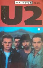 ON TOUR WITH U2 1980 - 1992 - ALAN CARTER PAPERBACK BOOK RARE DUTCH VERSION