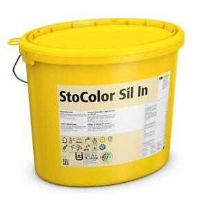 StoColor Sil In 15 l weiß Silikat Innen Farbe Wand Dispersion weiss