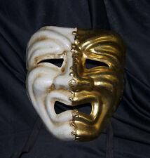 Adulto Masquerade Maschera commedia e tragedia martedì grasso triste gridando Veneziana da uomo