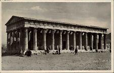 ATHEN Attika Griechenland Antike Theseus-Tempel alte AK Vintage Postcard ~1925
