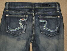 Rock & Republic Size 28 Roth Flare Stretch Womens Jeans