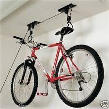 20 KG CICLO Hanger Ascensore Puleggia paranco bici staffa di risparmio di spazio di archiviazione per biciclette