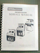 Seeburg 201,161,101 Jukebox manual