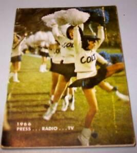 1966 Baltimore Colts Press Book / Media Guide