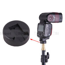 "Universal Flash Hot Shoe Mount Adapter for 1/4"" Screw Studio Light Stand/Bracket"
