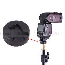 "Universal Flash Hot Shoe Mount Adapter for 1/4"" Screw Studio Light Stand/Bracket"